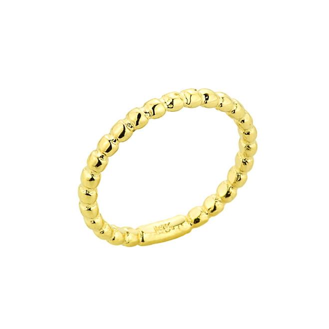 Gold Ball Chain Bead Toe Ring