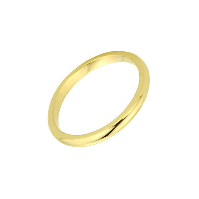 Gold Baby Ring