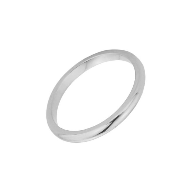 White Gold Baby Ring