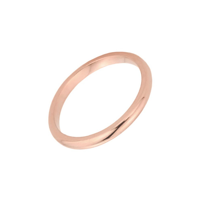 Rose Gold Baby Ring