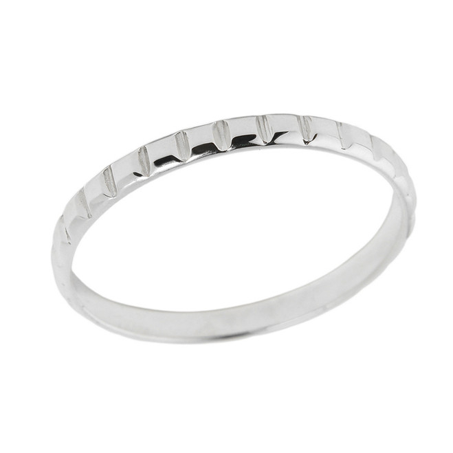 Sterling Silver Classic Thumb Ring
