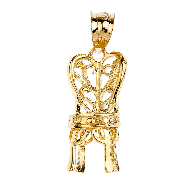 Gold Elegant Chair Pendant