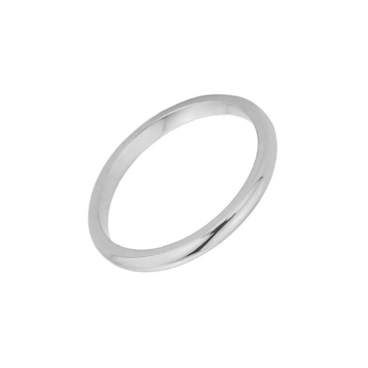 White Gold Toe Ring