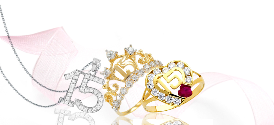15 Anos Rings: 15-Anos Quinceanera Jewelry