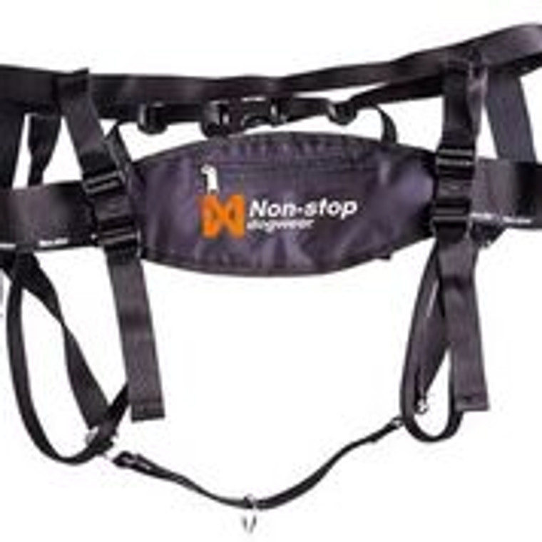 Non-Stop Line harness canicross kit