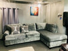 LUXURY SMOKE GRAY 2 PIECE SECTIONAL