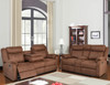 Chocolate Plush Reclining Collection
