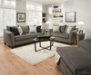 Albany Pewter Queen Sleeper Sofa