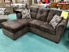 Luxury Brown Chofa (Sofa with Chaise)