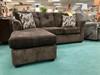 Luxury Brown Chofa (Sofa with Chaise)