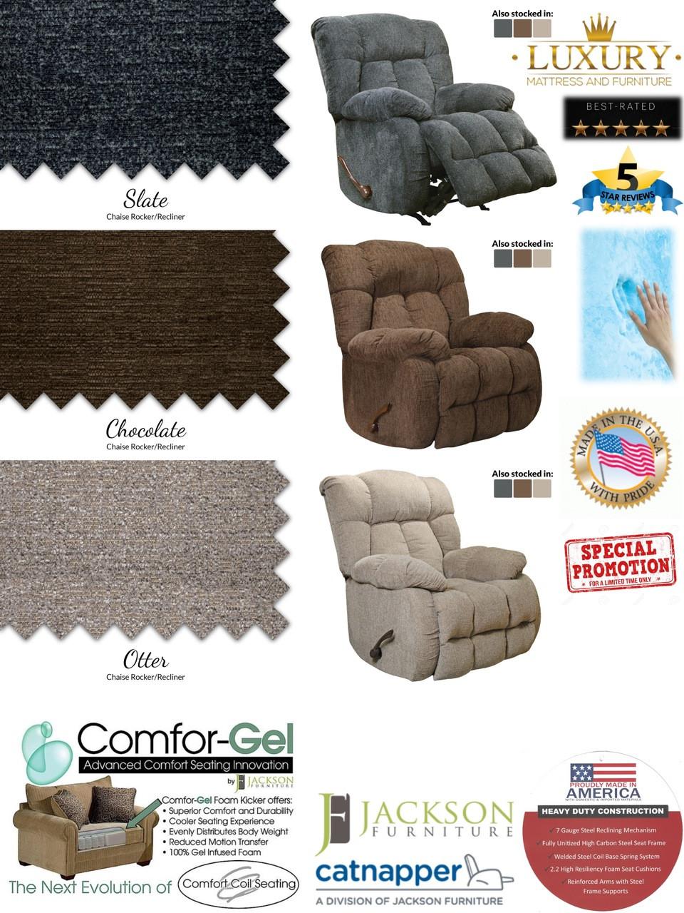 Surprising Catnapper Brody Comfort Gel Rocker Recliner Creativecarmelina Interior Chair Design Creativecarmelinacom