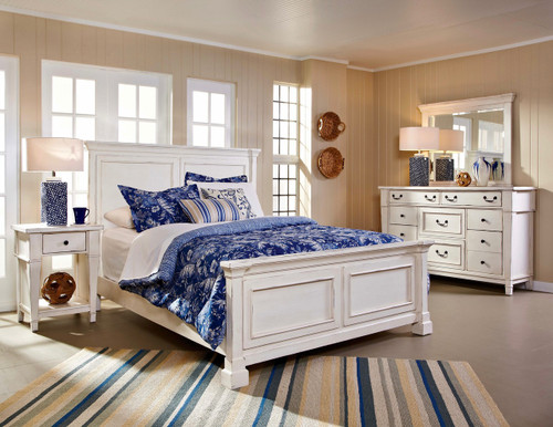 Stoney Creek White Bedroom
