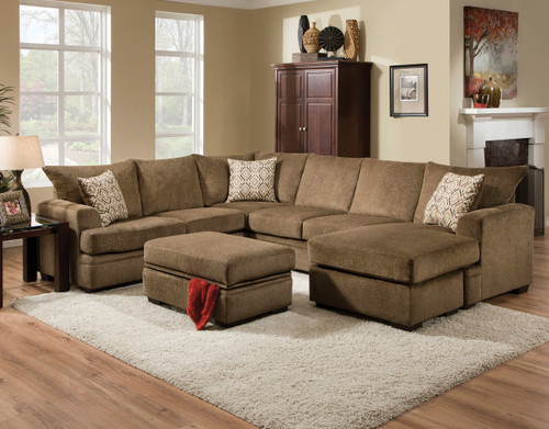 Cornell Cocoa 2 Piece Sectional
