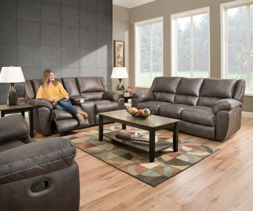 Granite Gray Beautyrest Reclining Collection