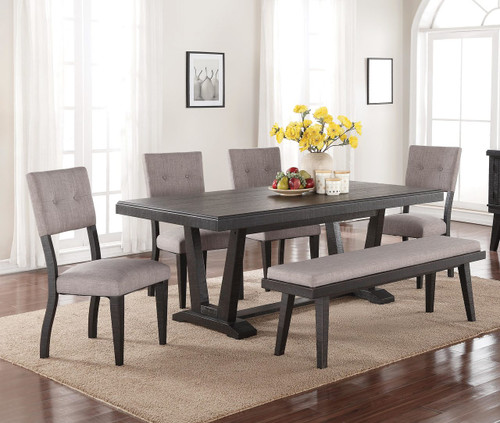 Ashen Echo 6 Piece Dining Set