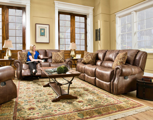 Waylon Mocha Reclining Collection