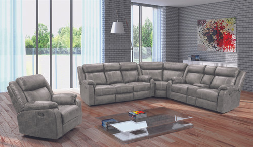 Jarama Gray Reclining Collection