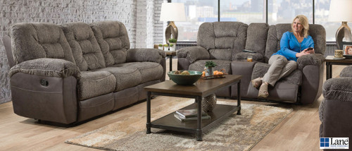 Charcoal Gray Beautyrest Reclining Collection