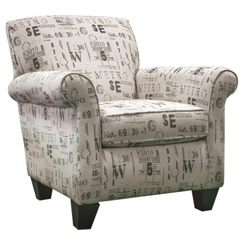 Lightrail Raven Accent Chair
