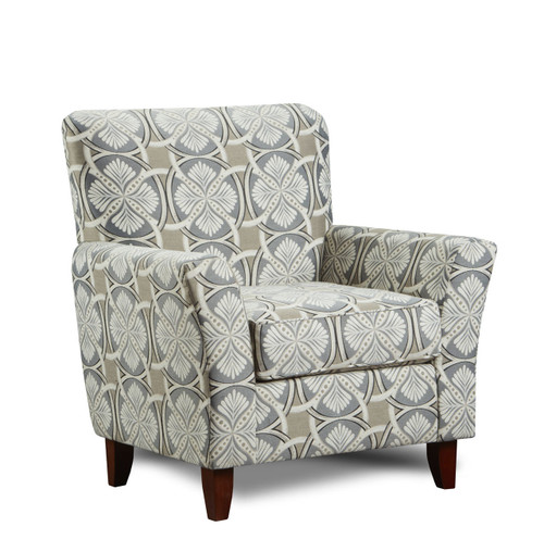 Mill Gray Accent Chair