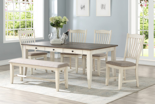 Lakeland Oak 6 Piece Dining Set