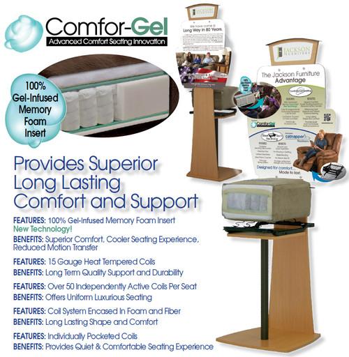 Comfort Gel Seating Experience!
