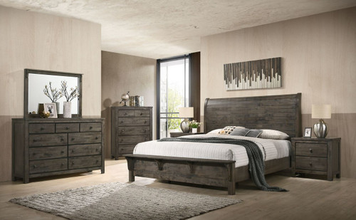 Shipyard Gray Bedroom
