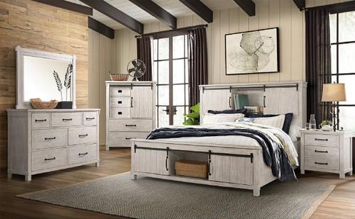 Scott White Storage Bedroom