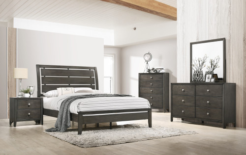 Grant Graphite Bedroom