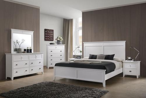 Cottage Bay White Bedroom