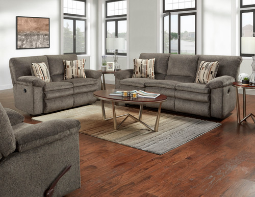 Tosh Pewter Comfort Gel Reclining Collection