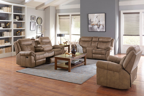 Knoxville Brown Reclining Collection