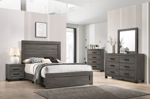 Salt Creek Gray Bedroom