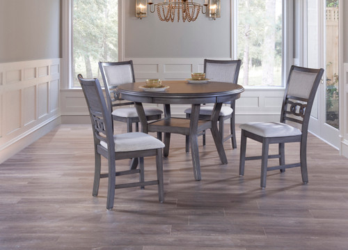 Gia Gray 5 Piece Dining Set