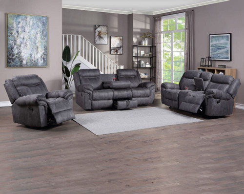 Knoxville Gray Reclining Collection