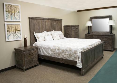 Industrial Barnwood Bedroom