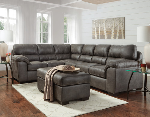 Sequoia Ash Luxury 2 Piece Sectional
