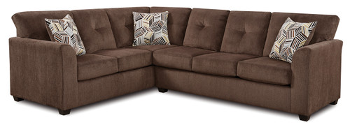Kennedy Brown Luxury 2 Piece Sectional