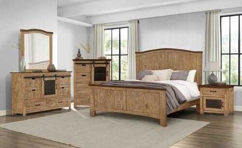 Wind Creek Brown Bedroom