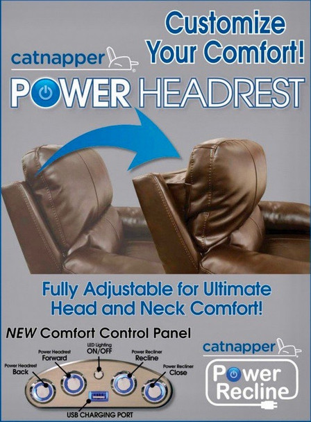 Enjoy the FREE Upgrades on this Set from Us! Ferrington Power Recline Collection!