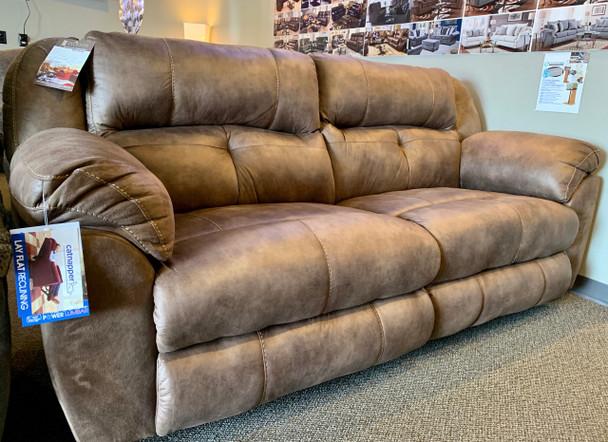 Ferrington Sofa with Power Recline/Close & Power Headrests! Dusk Color!