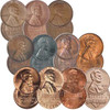 Set of Ten Celebrated Lincoln Cents Image 1
