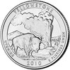 2010-D Yellowstone National Park Quarter Brilliant Uncirculated Image 1