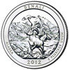 2012-P Denali National Park and Preserve Quarter Brilliant Uncirculated Image 1