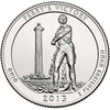 2013-D Perry's Victory and International Peace Memorial Quarter Brilliant Uncirculated Image 1