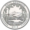 2013-D White Mountain National Forest Quarter Brilliant Uncirculated Image 1