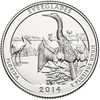 2014-P Everglades National Park Quarter Brilliant Uncirculated Image 1
