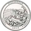 2014-P Shenandoah National Park Quarter Brilliant Uncirculated Image 1