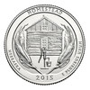 2015-P Homestead National Monument of America Quarter Brilliant Uncirculated Image 1