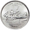 1999-D New Jersey Quarter Brilliant Uncirculated Image 1